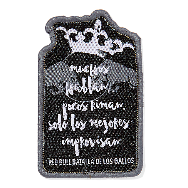 Batalla Patch Set (BDG18013): Red Bull Batalla De Los Gallos batalla-patch-set (image/jpeg)