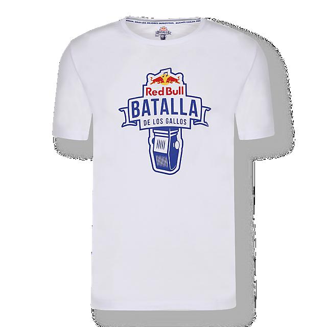 Battle T-Shirt (BDG20005): Red Bull Batalla De Los Gallos battle-t-shirt (image/jpeg)