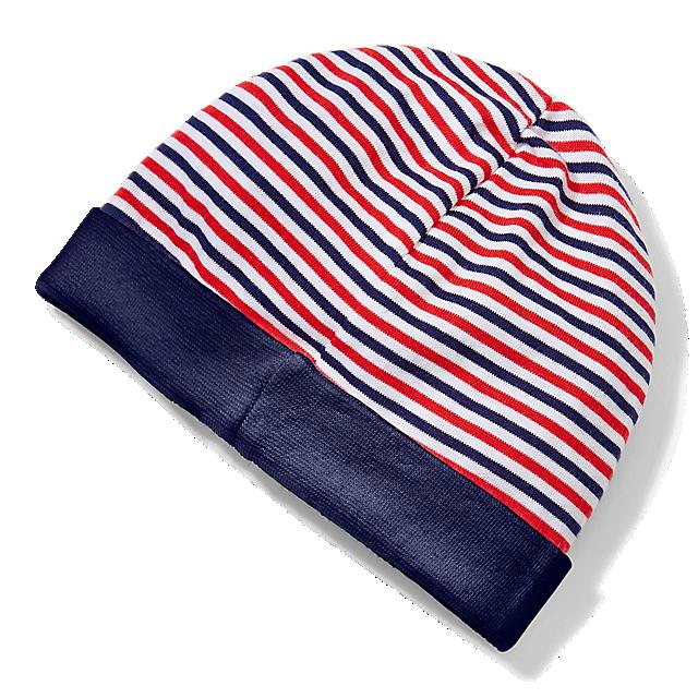71ab2cd61d9412 Striped Baby Beanie (ECM16026)  EHC Red Bull München striped-baby-beanie