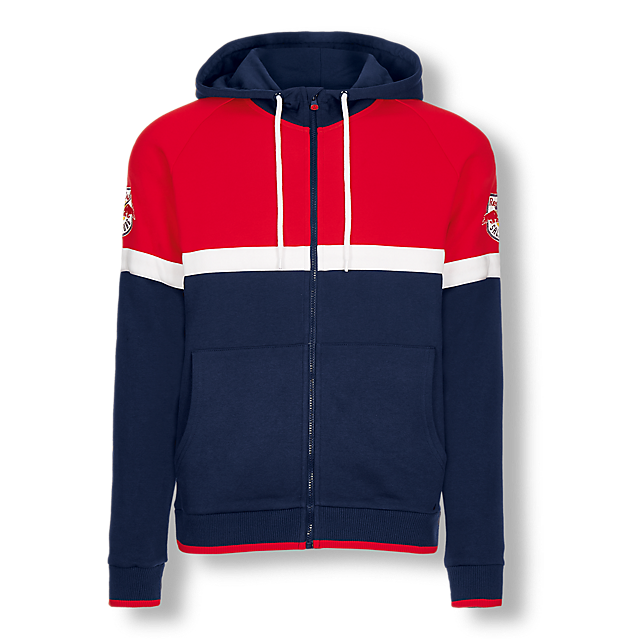 EC Red Bull Salzburg Shop: Colorblock Zip Hoody | only here at ...