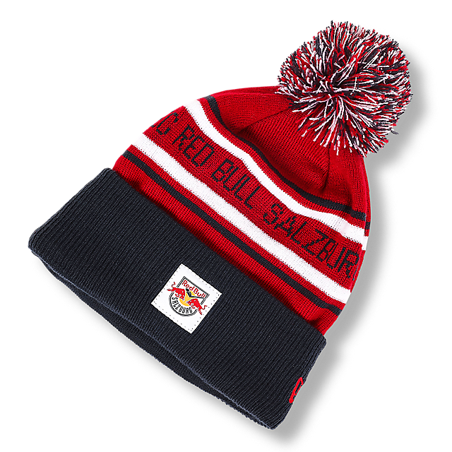 New Era Striped Beanie (ECS18025): EC Red Bull Salzburg new-era-striped-beanie (image/jpeg)