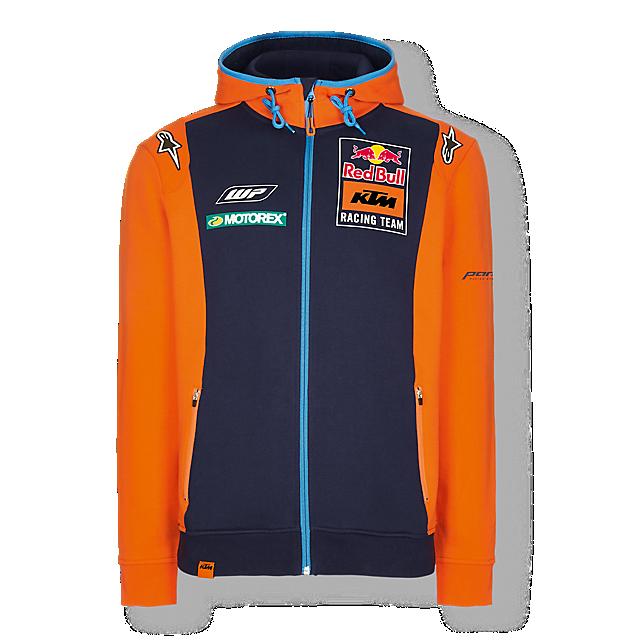 Official Teamline Zip Hoody (KTM17002): Red Bull KTM Racing Team official-teamline-zip-hoody (image/jpeg)