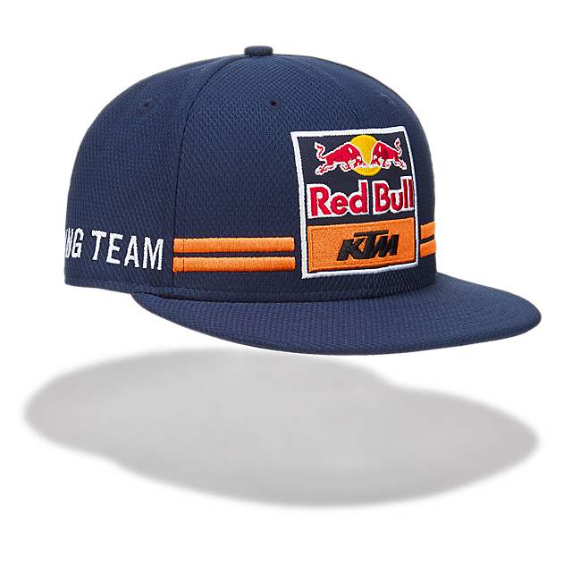 80e9f3bd5 New Era 9Fifty Red Bull KTM Flat Cap