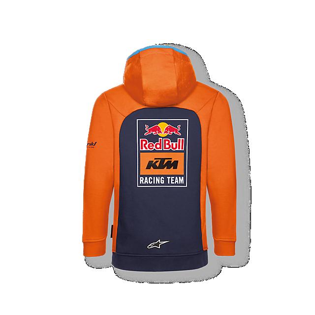 Official Teamline Zip Hoodie (KTM18004): Red Bull KTM Factory Racing official-teamline-zip-hoodie (image/jpeg)