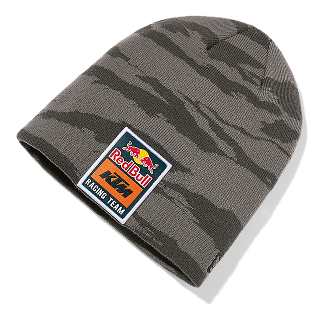 Red Bull KTM Racing Team Camo Beanie (KTM18043): Red Bull KTM Factory Racing red-bull-ktm-racing-team-camo-beanie (image/jpeg)