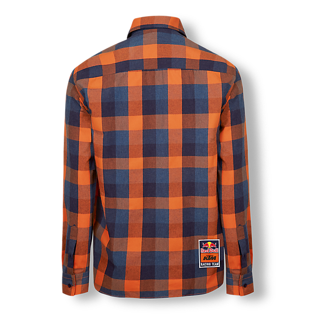 Checked Flannelhemd (KTM19006): Red Bull KTM Factory Racing checked-flannelhemd (image/jpeg)