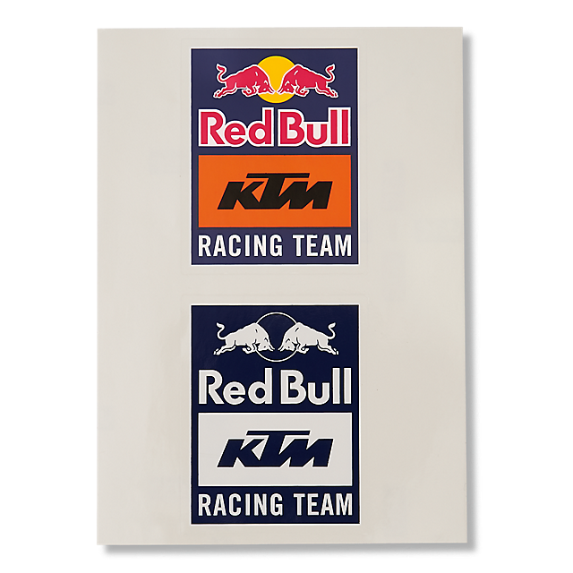 Red Bull Ktm Racing Team Sticker Set