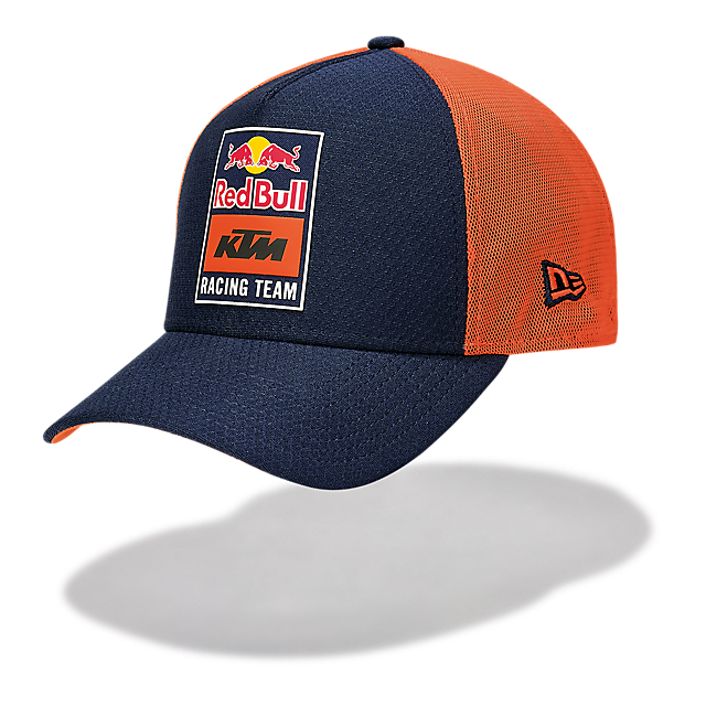 New Era Patch Trucker Cap (KTM20036): Red Bull KTM Racing Team new-era-patch-trucker-cap (image/jpeg)