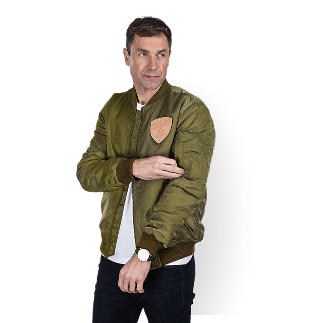 Race Pilot Bomber Jacket