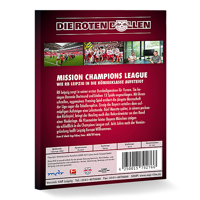 RBL Mission Champions League DVD (RBL17268): RB Leipzig rbl-mission-champions-league-dvd (image/jpeg)