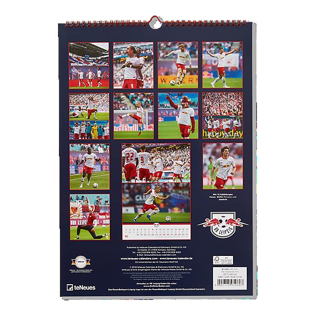 RBL Wandkalender 2019 (RBL18202): RB Leipzig rbl-wandkalender-2019 (image/jpeg)