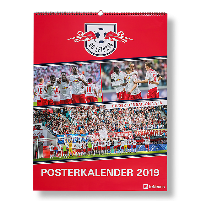 RBL Posterkalender 2019 (RBL18203): RB Leipzig rbl-posterkalender-2019 (image/jpeg)