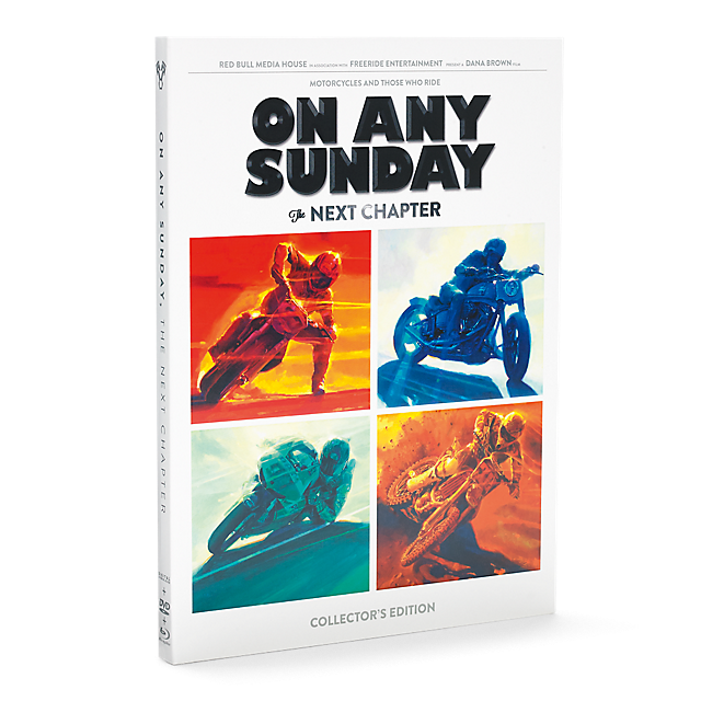 On any Sunday 3in1 set (RBM14010): Red Bull Media on-any-sunday-3in1-set (image/jpeg)