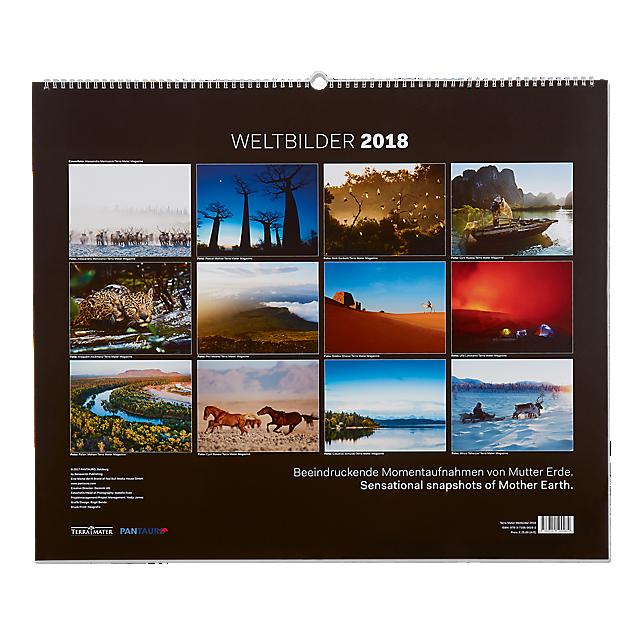 Terra Mater Weltbilder 2018 Calendar (RBM17005): Red Bull Media terra-mater-weltbilder-2018-calendar (image/jpeg)