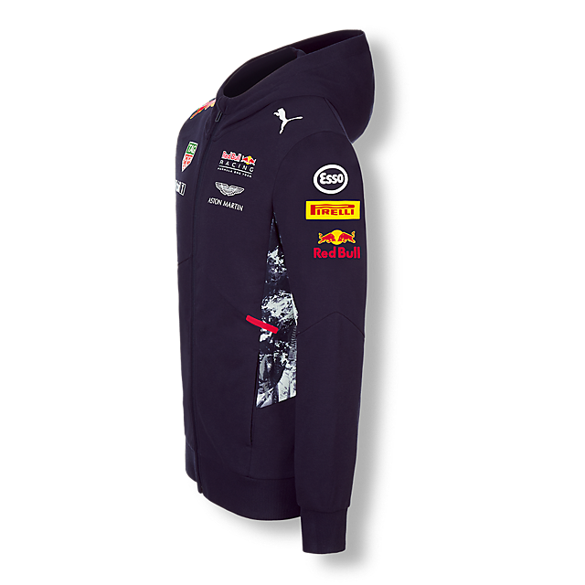 Official Teamline Zip Hoody (RBR17053): Red Bull Racing official-teamline-zip-hoody (image/jpeg)