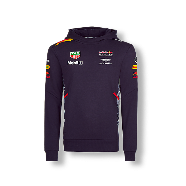 Official Teamline Zip Hoody (RBR17063): Red Bull Racing official-teamline-zip-hoody (image/jpeg)