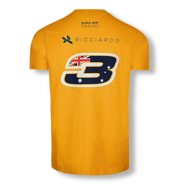 Daniel Ricciardo Driver T-Shirt (RBR17167): Red Bull Racing daniel-ricciardo-driver-t-shirt (image/jpeg)