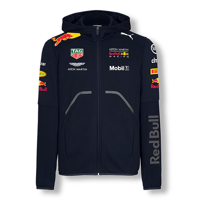 d5cfe6ee57a Official Teamline Zip Hoody (RBR18003)  Red Bull Racing official-teamline -zip