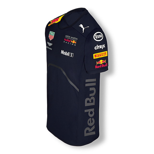 Official Teamline T-Shirt (RBR18006): Red Bull Racing official-teamline-t-shirt (image/jpeg)