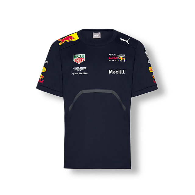 Official Teamline T-Shirt (RBR18013): Red Bull Racing official-teamline-t-shirt (image/jpeg)