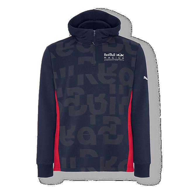 Scatter Half Zip Hoody (RBR18032): Red Bull Racing scatter-half-zip-hoody (image/jpeg)