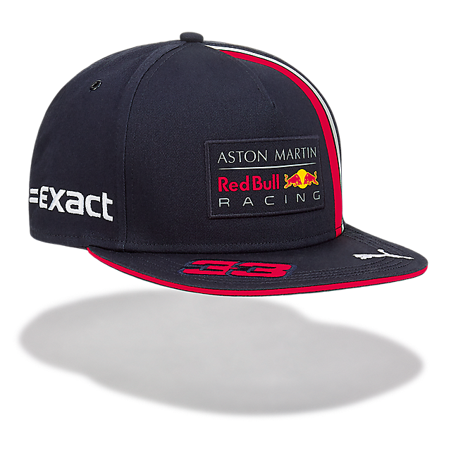 Official Teamline Verst. FB Flatcap (RBR19017): Red Bull Racing official-teamline-verst-fb-flatcap (image/jpeg)