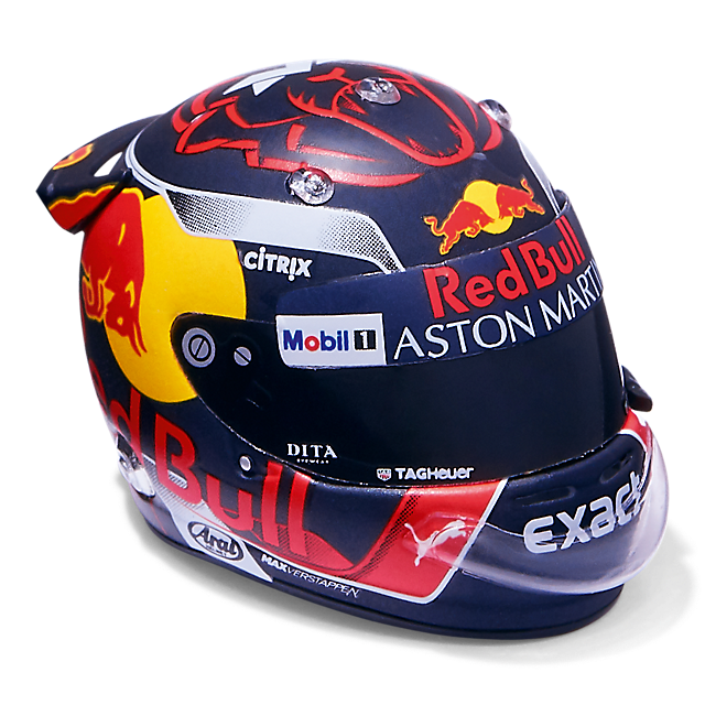 Minimax Max Verstappen Season Minihelmet 1:8 (RBR19165): Red Bull Racing minimax-max-verstappen-season-minihelmet-1-8 (image/jpeg)
