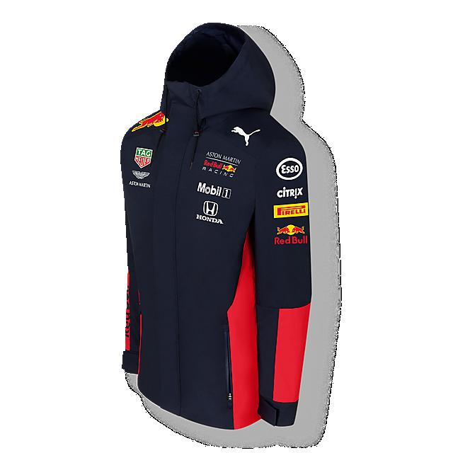 Official Teamline Rain Jacket  (RBR20001): Red Bull Racing official-teamline-rain-jacket (image/jpeg)
