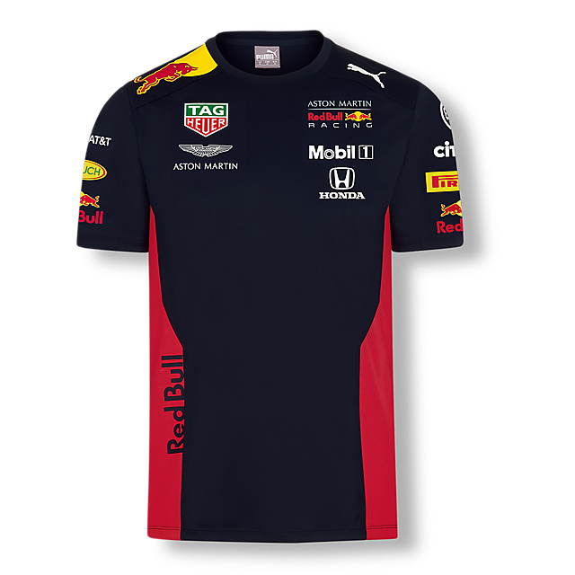 Official Teamline T-Shirt (RBR20008): Red Bull Racing official-teamline-t-shirt (image/jpeg)