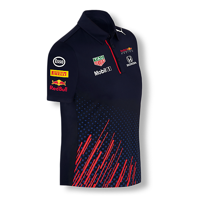 Official Teamline Polo (RBR21010): Red Bull Racing official-teamline-polo (image/jpeg)