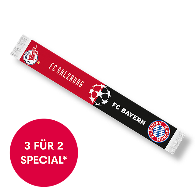 RBS FC Bayern Matchday Scarf (RBS20176): FC Red Bull Salzburg rbs-fc-bayern-matchday-scarf (image/jpeg)