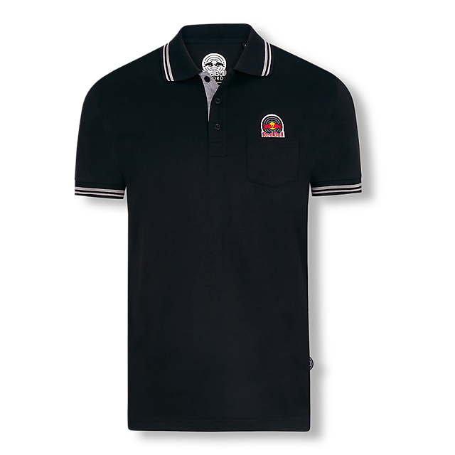 Vinyl Polo Shirt (REC19004): Red Bull Records vinyl-polo-shirt (image/jpeg)