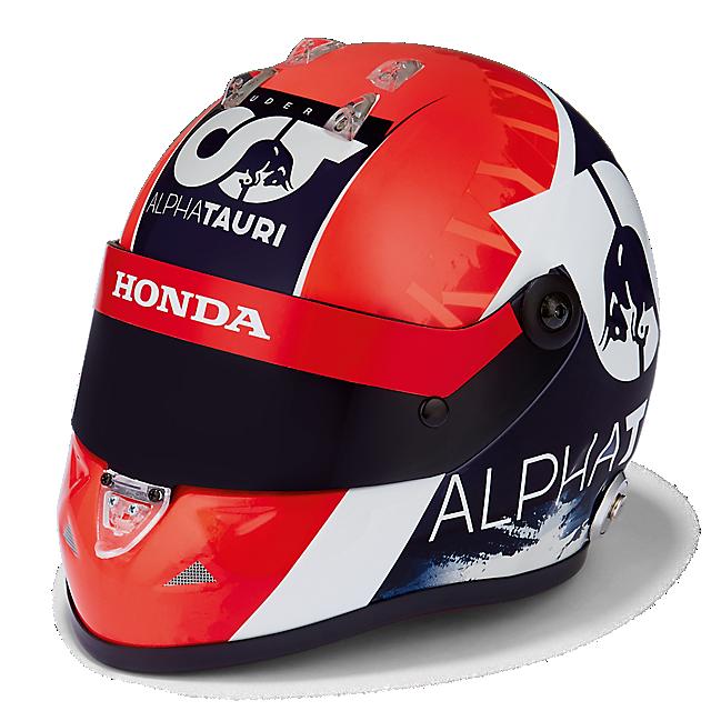 Daniil Kvyat 2020 1:2 Helmet  (SAT20008): Scuderia AlphaTauri daniil-kvyat-2020-1-2-helmet (image/jpeg)