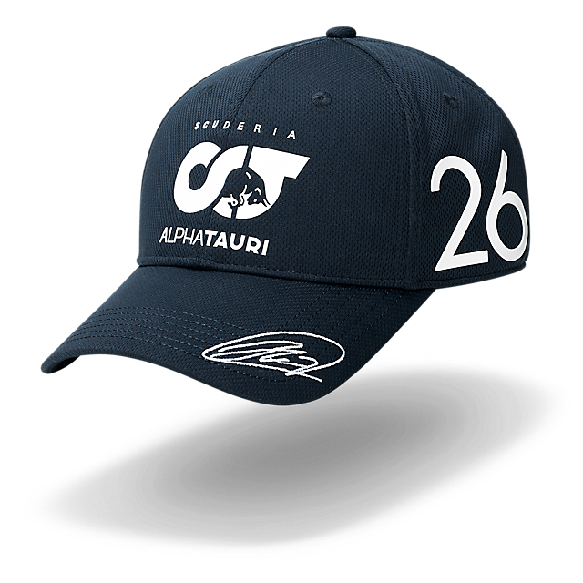 Daniil Kvyat Driver Cap (SAT20092): Scuderia AlphaTauri daniil-kvyat-driver-cap (image/jpeg)