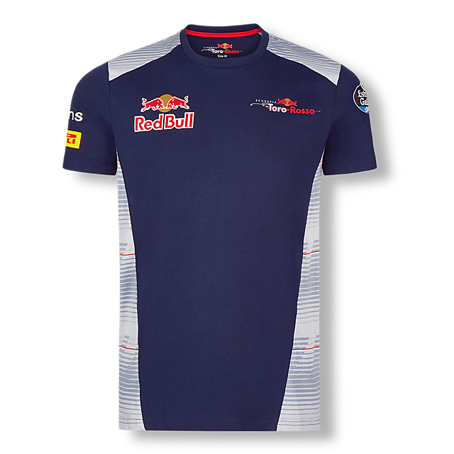 Official Teamline T-Shirt (STR17001): Scuderia Toro Rosso official-teamline-t-shirt (image/jpeg)