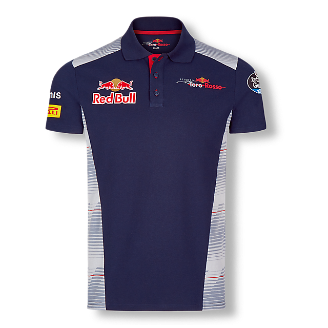 Official Teamline Polo Shirt (STR17003): Scuderia Toro Rosso official-teamline-polo-shirt (image/jpeg)