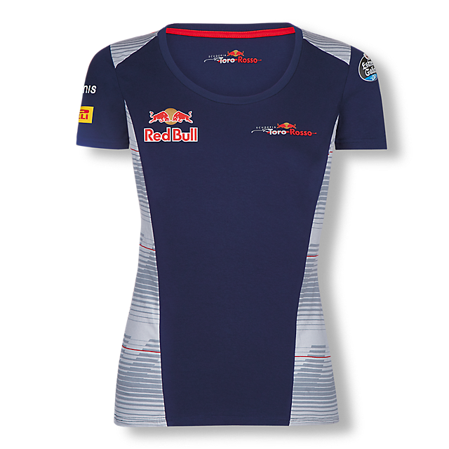 Official Teamline T-Shirt (STR17007): Scuderia Toro Rosso official-teamline-t-shirt (image/jpeg)