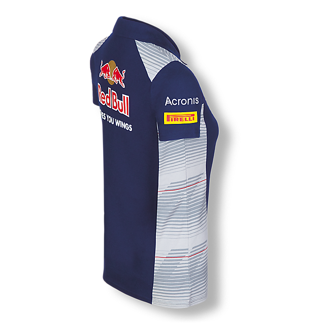 Official Teamline Polo Shirt (STR17008): Scuderia Toro Rosso official-teamline-polo-shirt (image/jpeg)