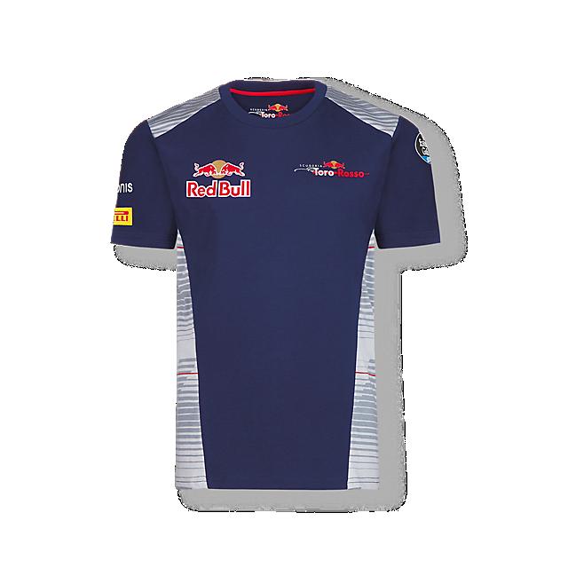 Official Teamline T-Shirt (STR17011): Scuderia Toro Rosso official-teamline-t-shirt (image/jpeg)