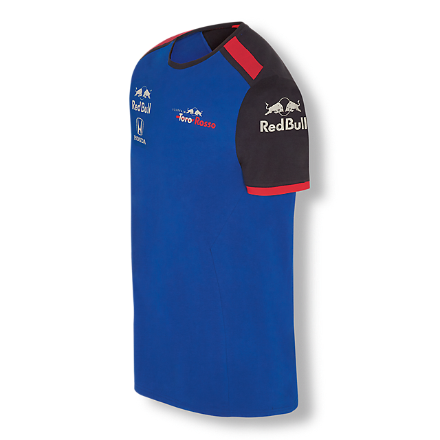 Official Teamline T-Shirt (STR18001): Scuderia Toro Rosso official-teamline-t-shirt (image/jpeg)