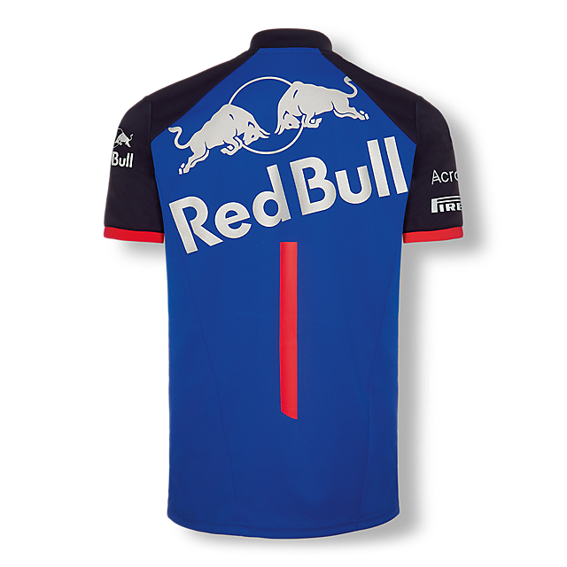 Official Teamline Functional T-Shirt (STR18003): Scuderia Toro Rosso official-teamline-functional-t-shirt (image/jpeg)