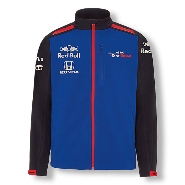 Official Teamline Softshell Jacket (STR18005): Scuderia Toro Rosso official-teamline-softshell-jacket (image/jpeg)