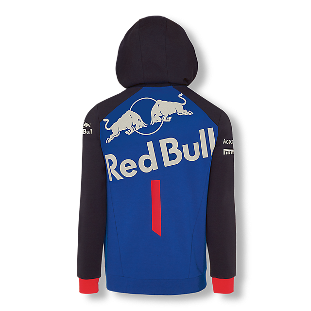 Official Teamline Zip Hoody (STR18006): Scuderia Toro Rosso official-teamline-zip-hoody (image/jpeg)