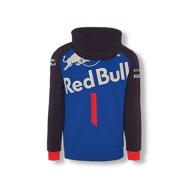 Official Teamline Zip Hoodie (STR18010): Scuderia Toro Rosso official-teamline-zip-hoodie (image/jpeg)
