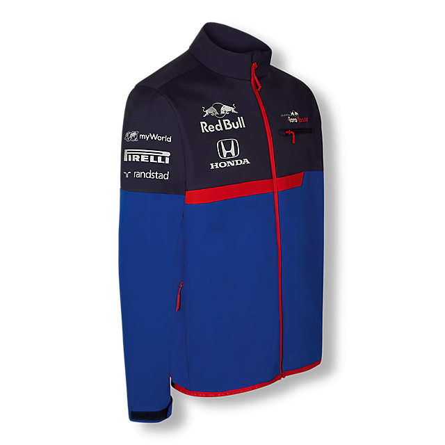Official Teamline Softshell Jacket (STR19001): Scuderia Toro Rosso official-teamline-softshell-jacket (image/jpeg)