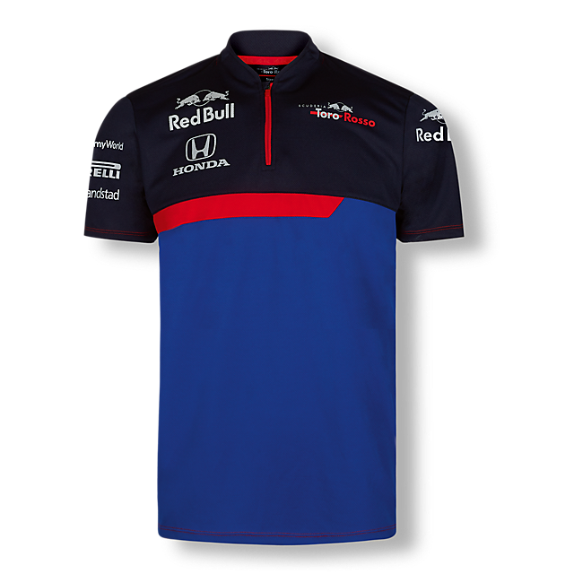 Official Teamline Functional T-Shirt (STR19005): Scuderia Toro Rosso official-teamline-functional-t-shirt (image/jpeg)