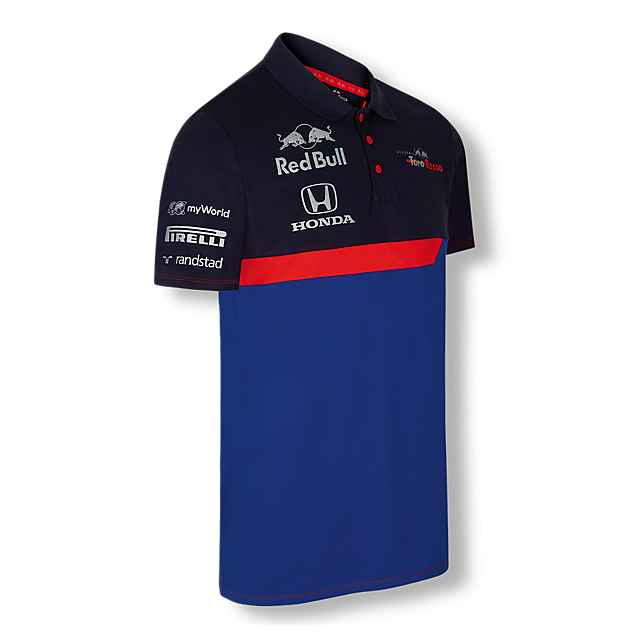 Official Teamline Polo (STR19007): Scuderia Toro Rosso official-teamline-polo (image/jpeg)