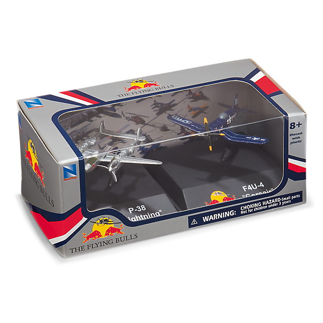 P38 1:200 + F-4U Red Bull 1:190 (TFB17004): The Flying Bulls p38-1-200-f-4u-red-bull-1-190 (image/jpeg)