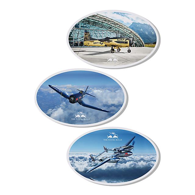 TFB Comic Sticker Set (TFB17031): The Flying Bulls tfb-comic-sticker-set (image/jpeg)