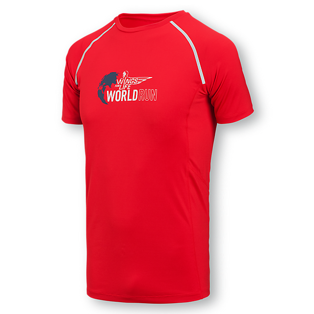 Unika Wings for Life World Run Shop: Running Funktions T-Shirt   nur FY-29